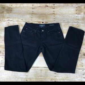 Lucky Brand Sweet N Straight Black Jeans 4/27